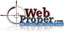 WebProper.com - Web & Graphic Design & Maintenance